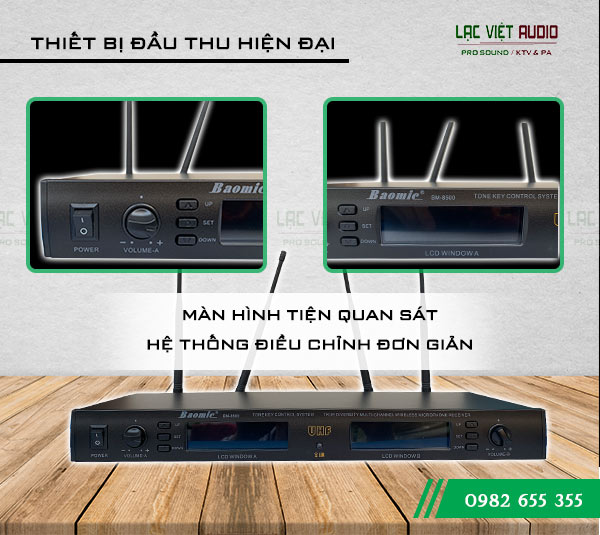 Đầu thu sản phẩm Micro Baomic BM8500
