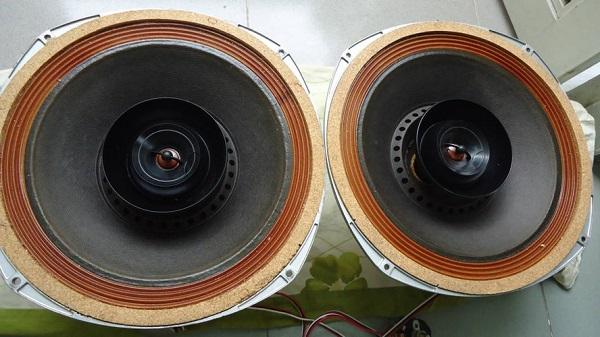Mẫu bass loa đồng trục sử dụng cho hệ thống âm hanh HIFI