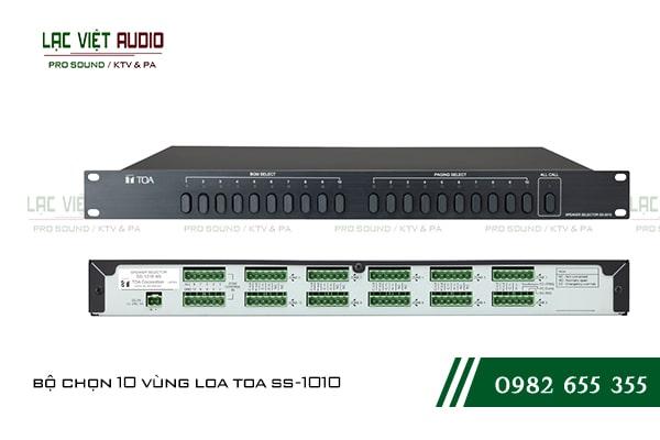 Bộ chọn 10 vùng loa TOA SS-1010