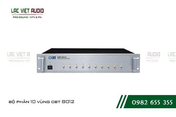 Bộ phân 10 vùng OBT 8012