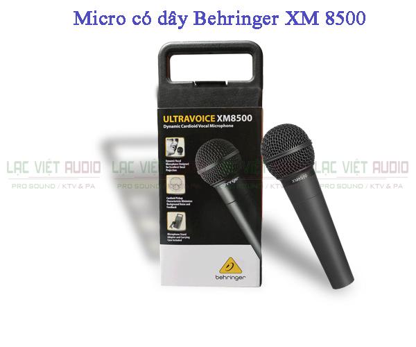 Bộ sản phẩm Micro có dây Behringer XM 8500