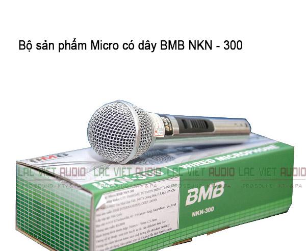 Bộ sản phẩm Micro có dây BMB NKN-300