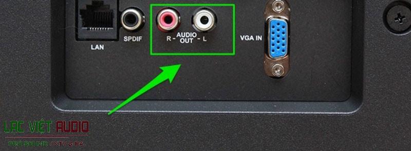 Giắc chuyển âm thanh từ tivi sang amply