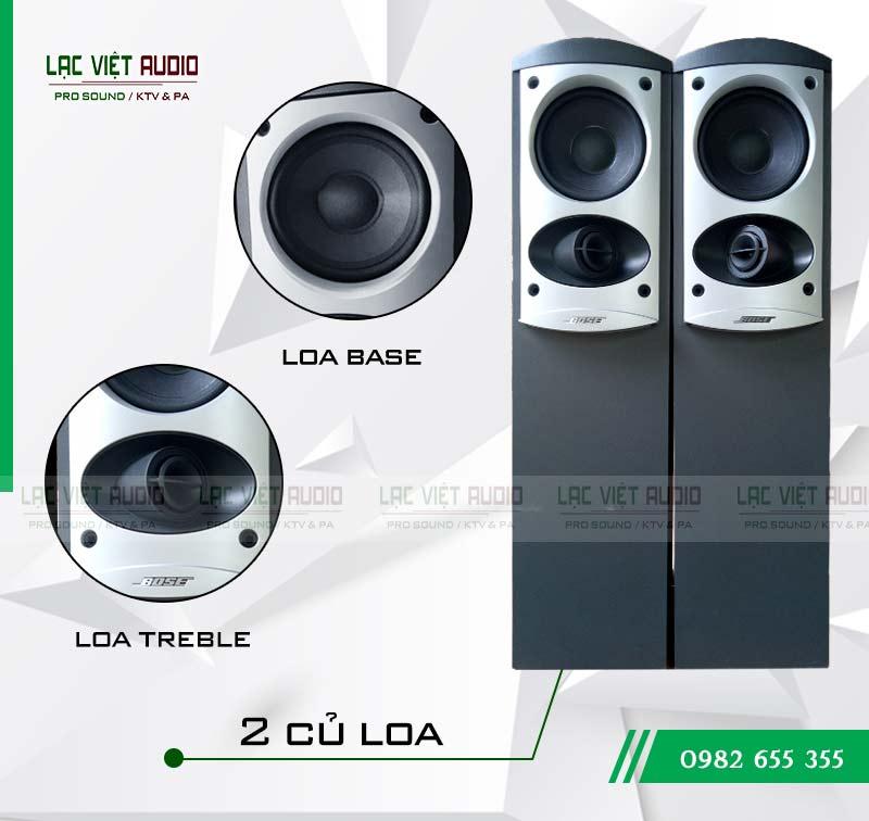 Loa Bose 601 seri IV là dòng loa 2 đường tiếng