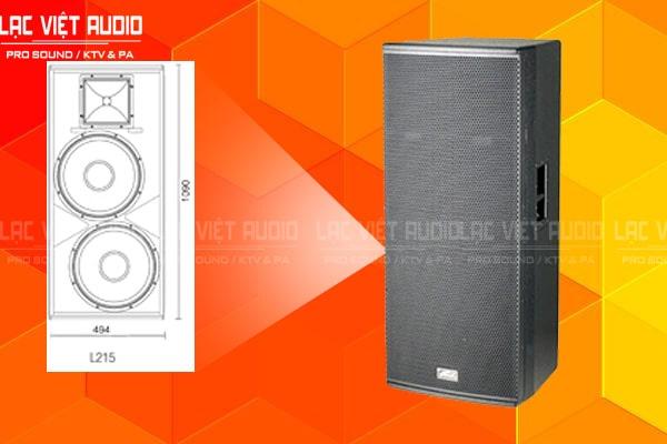 Cấu tạo sản phẩm Loa soundking L212