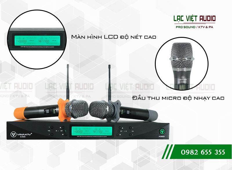 Micro không dây hát karaoke