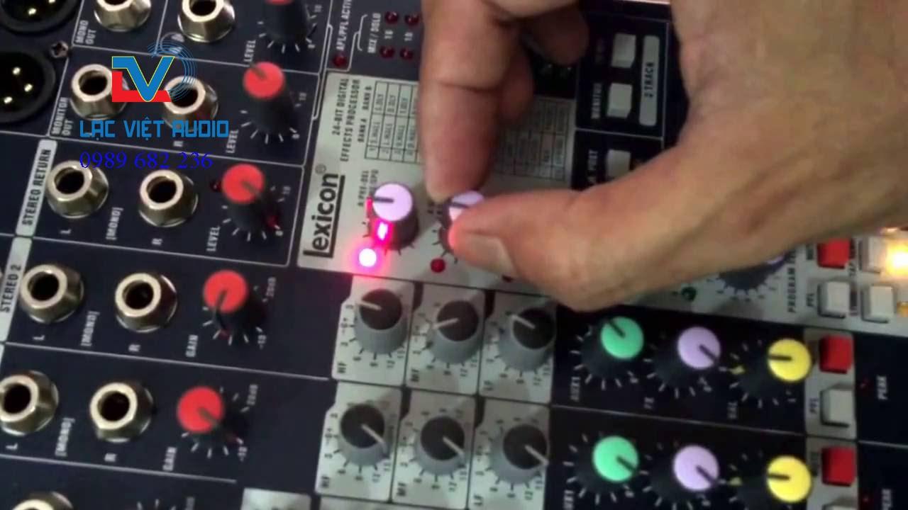 Tùy chỉnh mixer