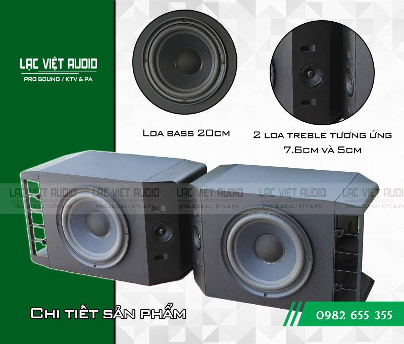 Chi tiết Loa Bose 301 seri IV