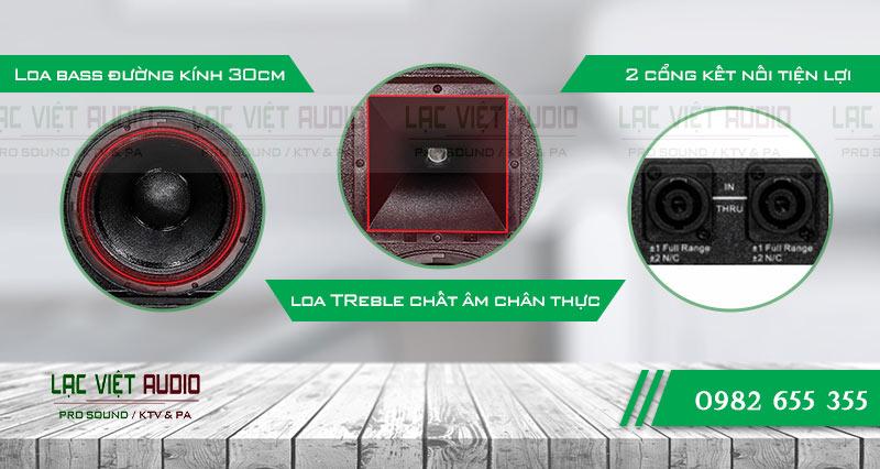 Cấu tạo Loa CA Sound KP-4012
