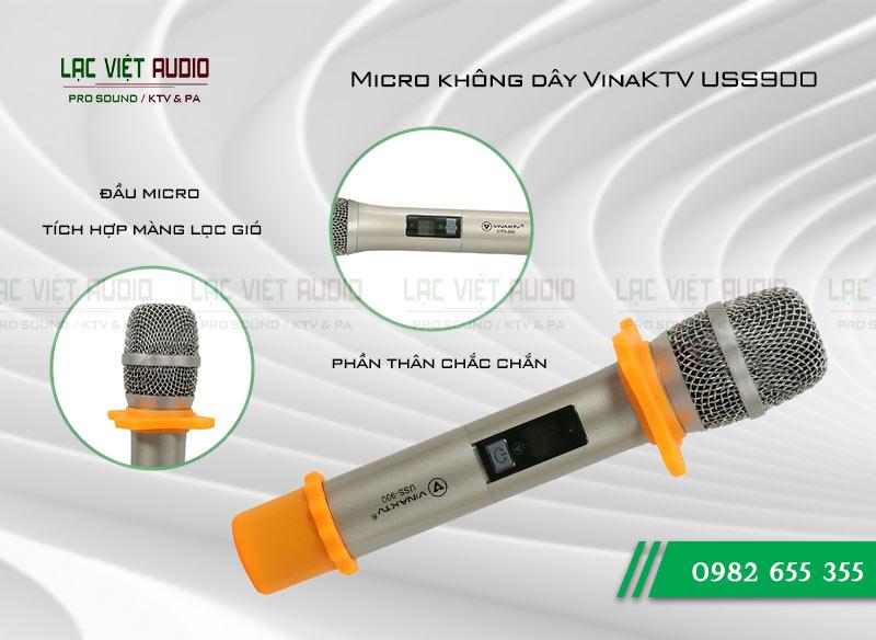 Micro không dây VinaKTV USS900