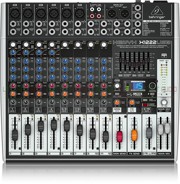 Mixer Behringer Xenyx X-1222USB