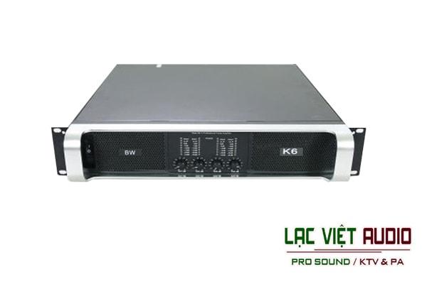 Cục đẩy công suất 4 kênh K6 tại Lạc Việt Audio