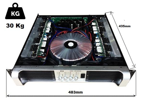 Cục đẩy DB 4 kênh KT4800