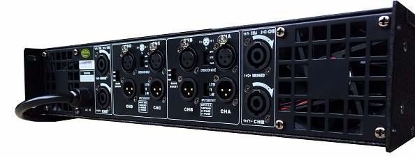 Cục đẩy DB TK4800 tích hợp 3 chế độ Pair, Bridge, Stereo