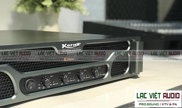 Mua cục đẩy công suất Korah hàng chính hãng chất lượng cao tại Lạc Việt Audio