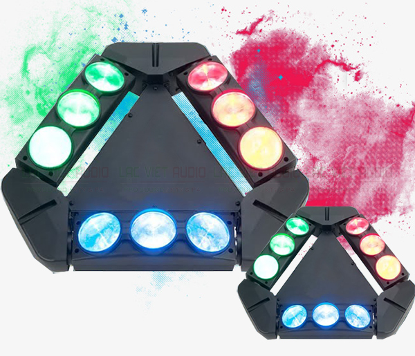 Đặc điểm nổi bật sản phẩm Đèn Spider 9 mắt