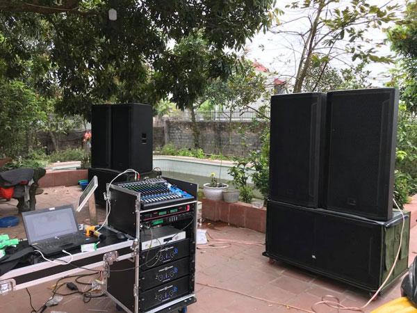 Dàn âm thanh đám cưới DB acoustic