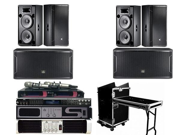 Combo dàn âm thanh hội trường với mức đầu tư 110 triệu
