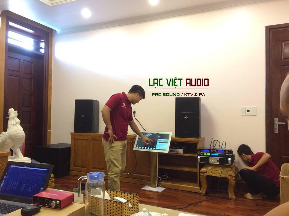 Lắp đặt dàn âm thanh chất lượng cao, setup chuyên nghiệp