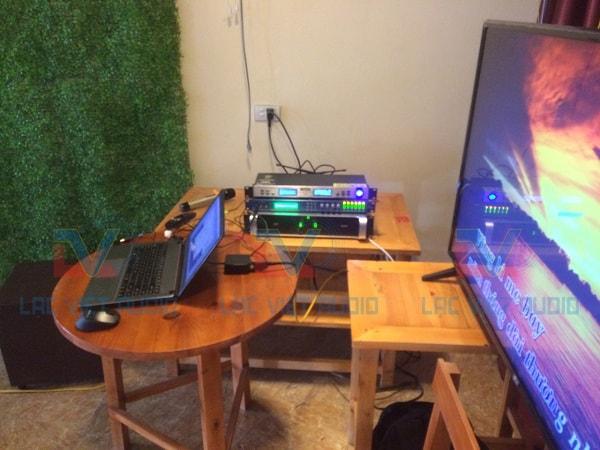 Hệ thống xử lý âm thanh trung tâm, cục đẩy, vang số, micro