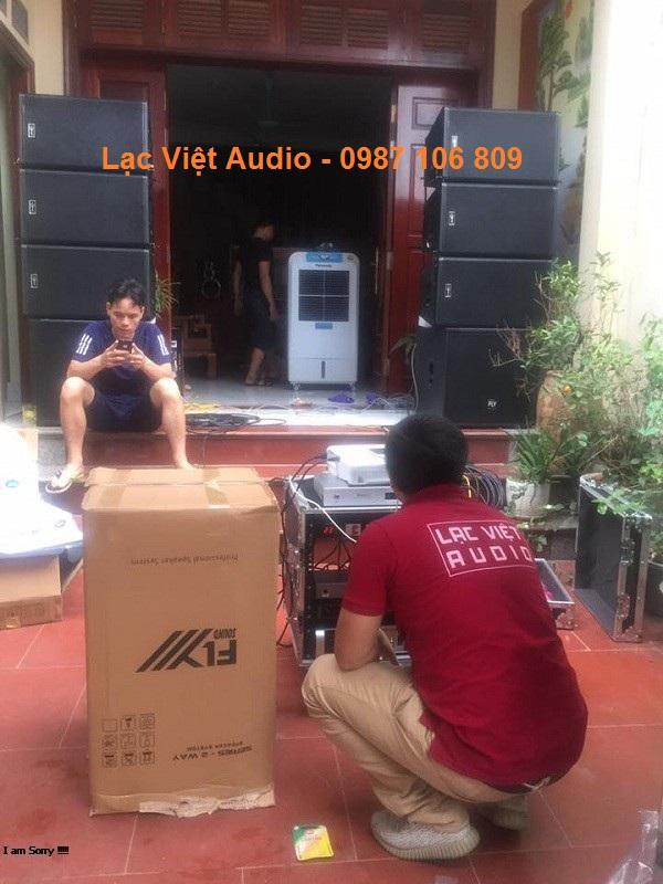 Lạc Việt Audio setup âm thanh chuẩn cho khách hàng