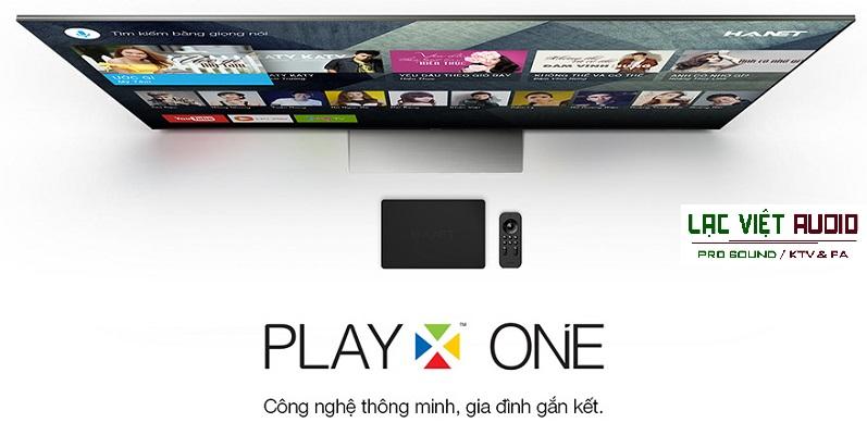 Đầu karaoke Hanet PlayX One 2TB kết nối TV