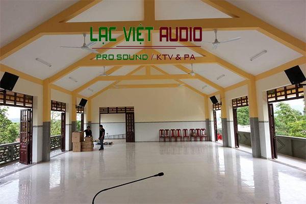 Lắp đặt âm thanh nhà chùa chuyên nghiệp