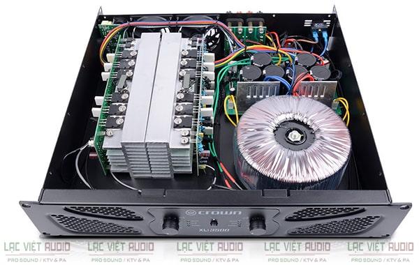 Thiết bị được trang bị mức công suất mạnh mẽ, linh hoạt cùng với hiệu suất hoạt động cao và ổn định