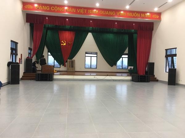 Dự án âm thanh hội trường cho ủy ban nhân dân tỉnh