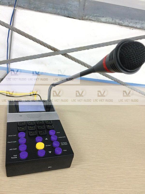 Micro OBT IP sử dụng cho âm thanh nhà xưởng nhiều tầng