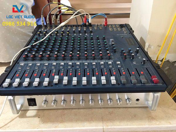 Hệ thống thiết bị điều khiển được setup ở phòng kỹ thuật