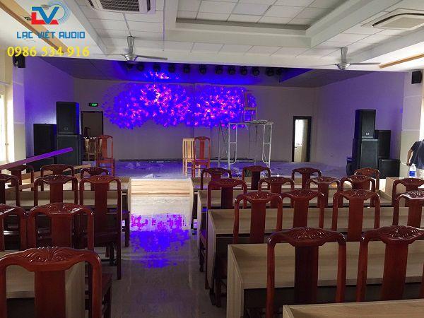 Cung cấp âm thanh ánh sáng cho bệnh viện đa khoa Hùng Vương - Phú Thọ
