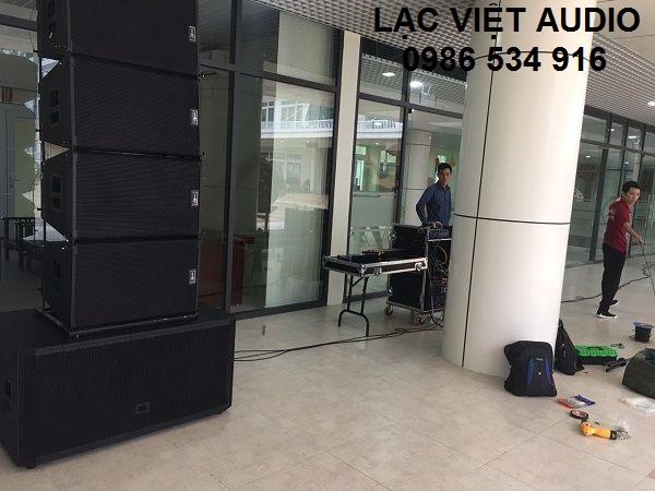 Dự án âm thanh sân khấu cho trường THCS T Xuân - Hà Nội