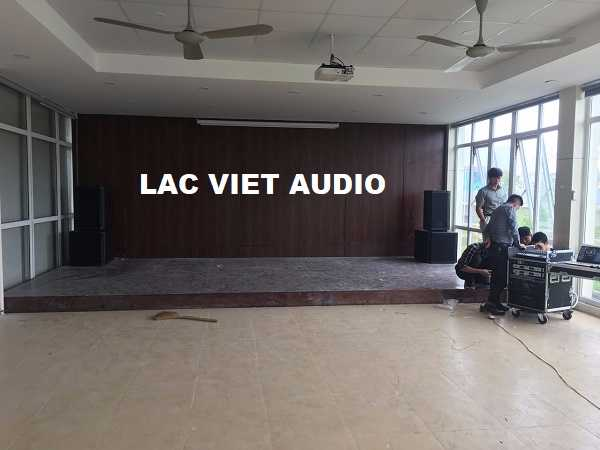 Dự án âm thanh hội trường cho trung tâm kỹ thuật công nghệ bảo tồn di tích