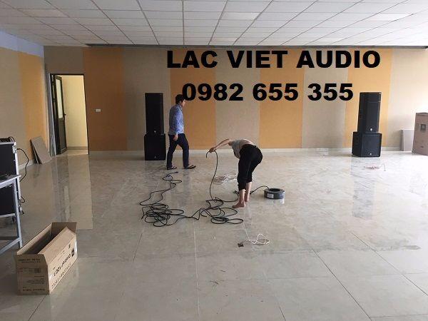 Hệ thống âm thanh cho tòa nhà Hiteck