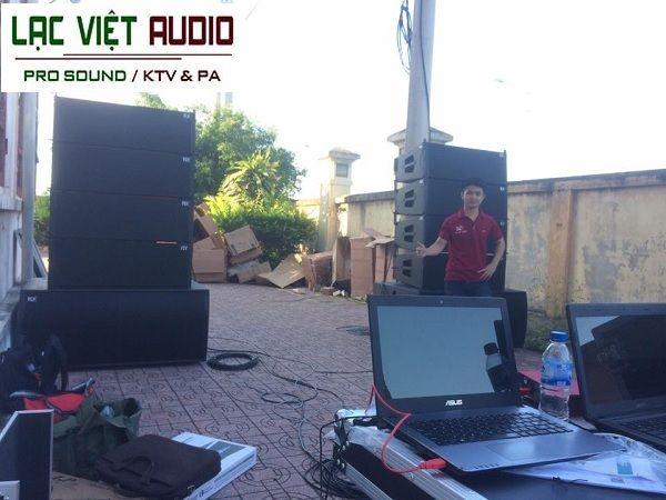 Dàn âm thanh TTVH huyện Diễn Châu