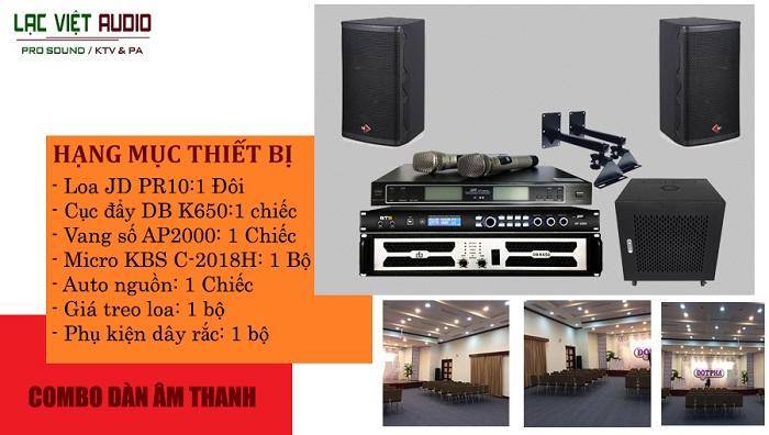 Hạng mục thiết bị âm thanh được sử dụng phổ biến ở diện tích 30-50m2