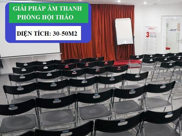 Giải Pháp Âm Thanh Cho Phòng Hội Thảo Nhỏ 30-50m2