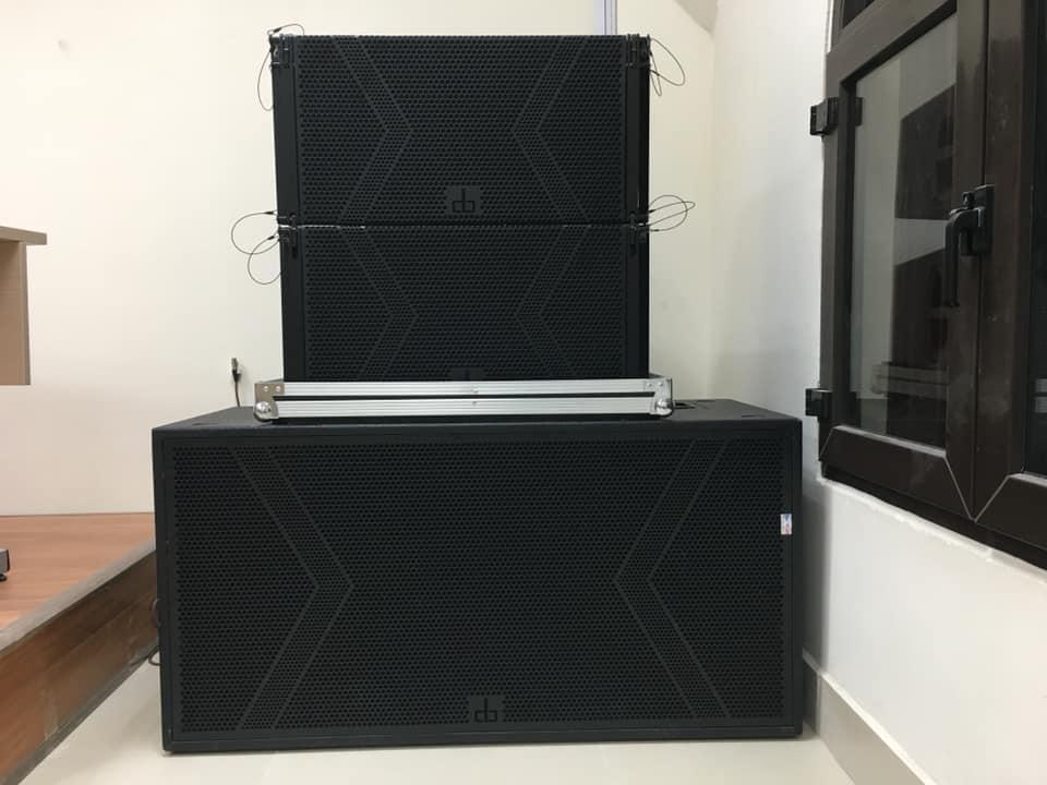 Hệ thống loa sub và loa array DB