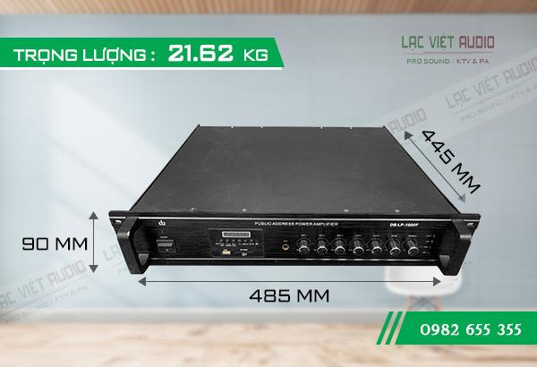Thiết kế sản phẩm Amply DB LP-1000F