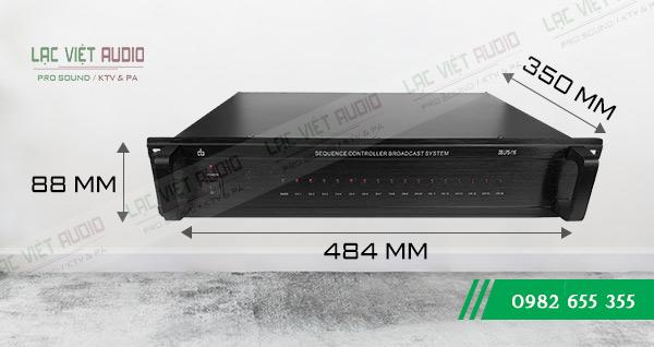 Kích thước sản phẩm Bộ hẹn giờ DB - TL 66USB