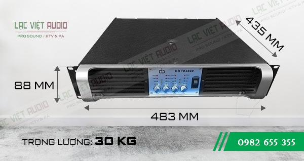 Cục đẩy DB TK4800 chính hãng sử dụng 4 kênh độc lập