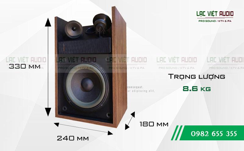 Kích thước Loa Bose 301 seri II