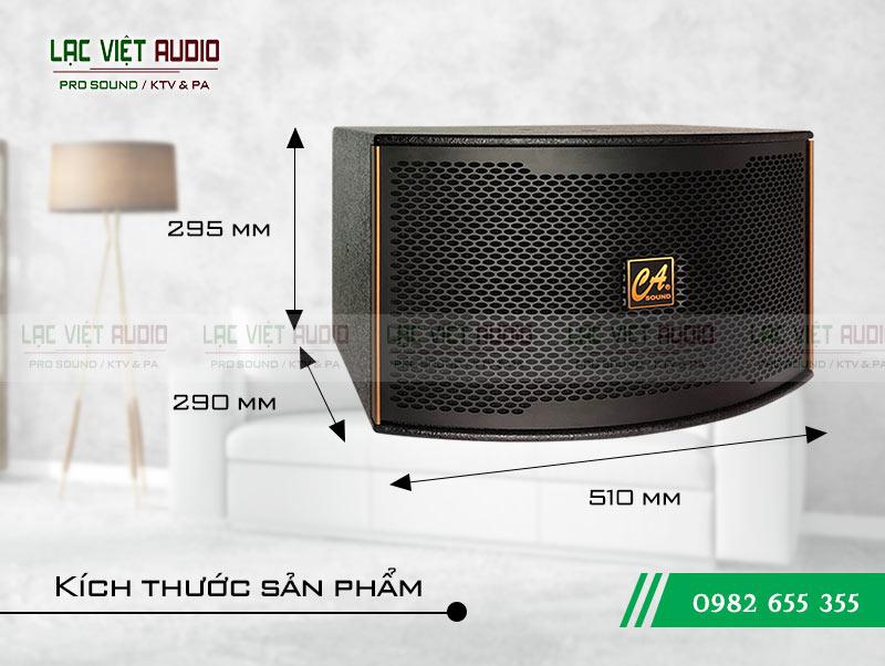 Kích thước Loa CA Sound K-310