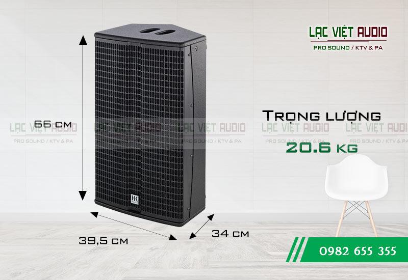 Kích thước Loa HK L3 112XA