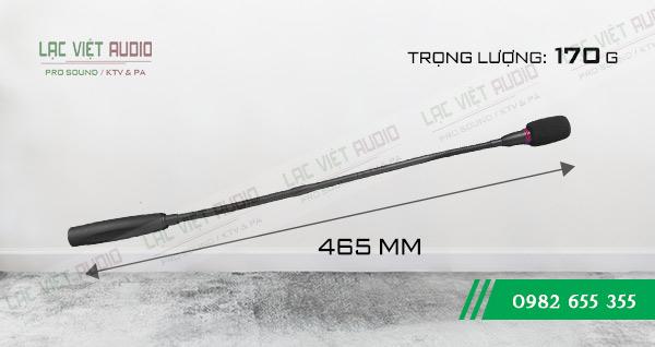 Kích thước Micro cổ ngỗng JTS GM-5212L
