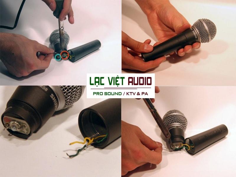 Lạc Việt audio chuyên sửa chữa micro có dây
