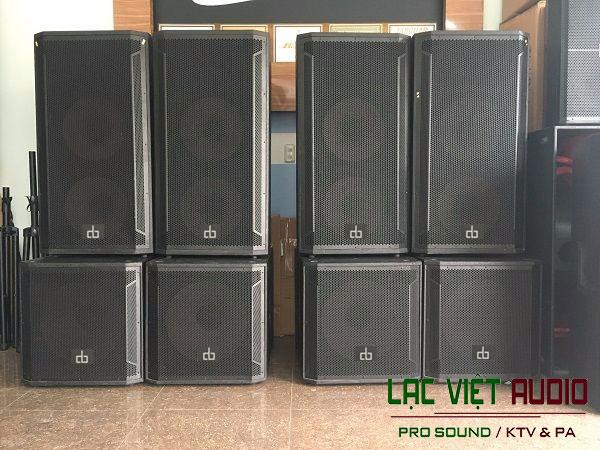 Lạc Việt Audio phân phối loa sub DB CTX118S chính hãng