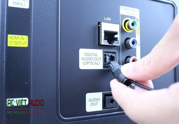 Cách chuyển âm thanh từ tivi sang amply