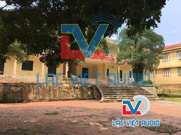 Lạc Việt Audio cung cấp âm thanh cho trường THCS Nam Sơn - Bắc Ninh
